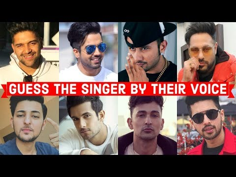 Guess the Singer by Their Voice |Guru, Hardy, Yo Yo, Badshah, Darshan, Sanam, Zack, Armaan
