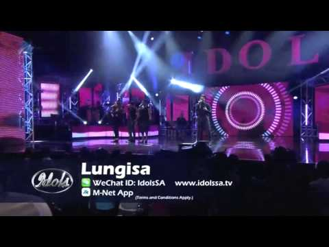 Top 16 Performance: Lungisa touches love