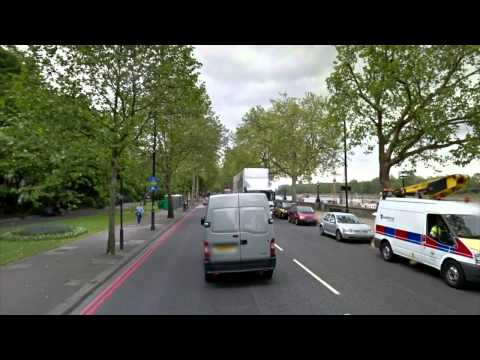 Street View Road Trip - Across London