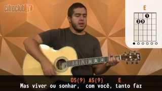Não Precisa - Paula Fernandes (aula de violão simplificada)