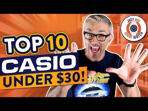 Top Ten Casio Watches Under $30!