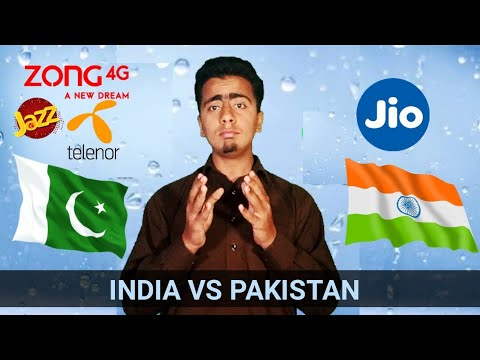 Indian Jio VS Pakistani Telecom Companies Comparison