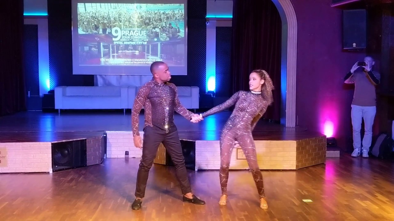 Carlos and Fernanda Brazilian Zouk routine By my side 2018 - Prague Zouk Congress 2018