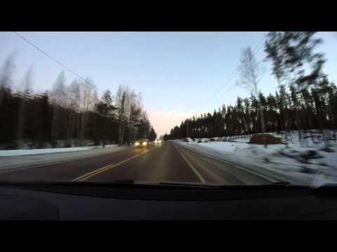 Driving from Helsinki to Riihimäki