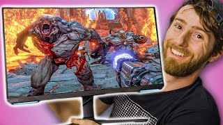 4K Gaming Within 28 Inches!! -  Samsung Odyssey G7 Monitor