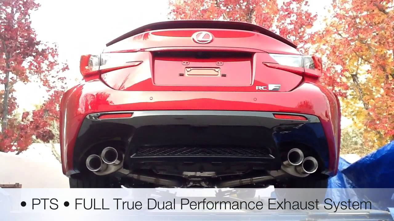 2015 Lexus Isf >> 2015 @Lexus RC F • PTS-JoeZ series Full Exhaust Demo - YouTube