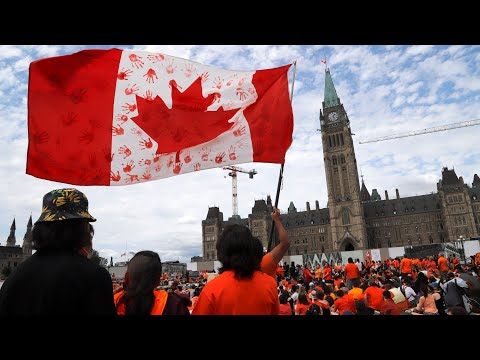 Canada Day celebrations scaled back as the nation reflects
