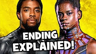 Black Panther ENDING EXPLAINED & Avengers Infinity War Theory