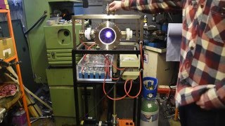 Nuclear Fusor running on Argon