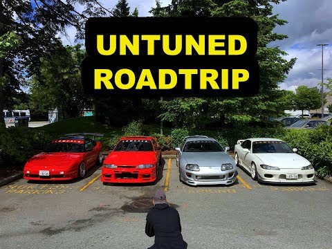 Untuned JDM Reliability TEST (Roadtrip)