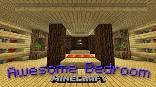 One of GoodTimesWithScar's most viewed videos: Minecraft:  How To Make An Awesome Bedroom Design