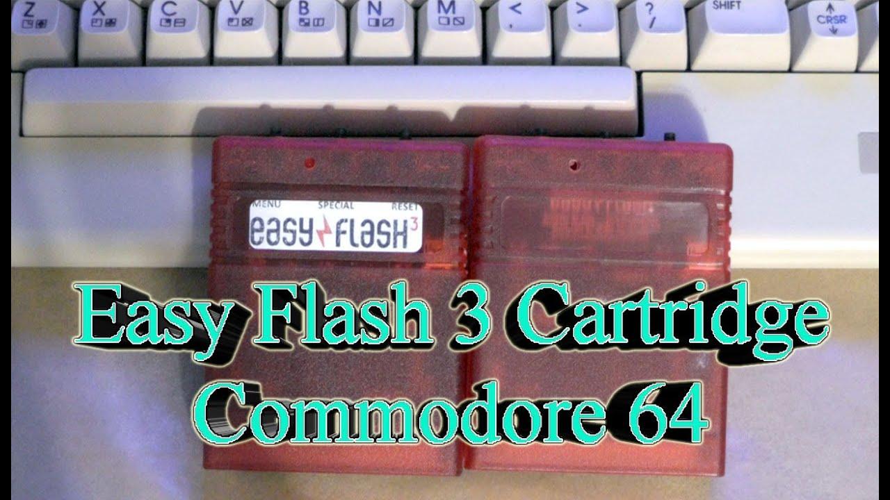 Commodore 64 EASY FLASH 3 Cartridge