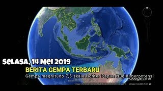 Download Video Gempa M 7,5 Guncang Papua Nugini, Berpotensi Tsunami MP3 3GP MP4