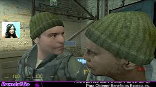 Half-Life 2 :Mod synergy | troleando y usando mensajes de Radio