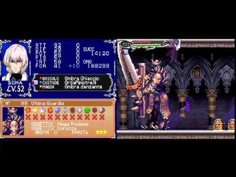 Castlevania - Dawn of Sorrow:  Final guard soul +  Big Money  + Claimh Solaris