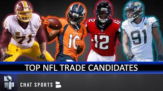 Top 10 NFL Players Who Could Be Traded Before The 2019 NFL Trade Deadline | NFL Trade Rumors