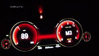 BMW 730d xDrive 2013 - acceleration 0-250 km/h