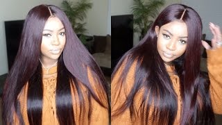 Baixar HOW TO COLOR HAIR BURGANDY TUTORIAL | BRAZILIAN BODY WAVE | FEAT. ISEE HAIR