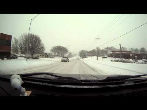 Omaha Winter Drive (GoPro Hero)