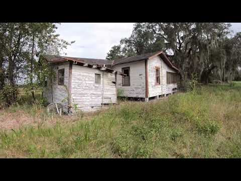 Abandoned House At Hilochee Wildlife Management Area