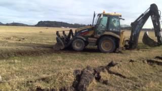 Drainage at West Drip Farm