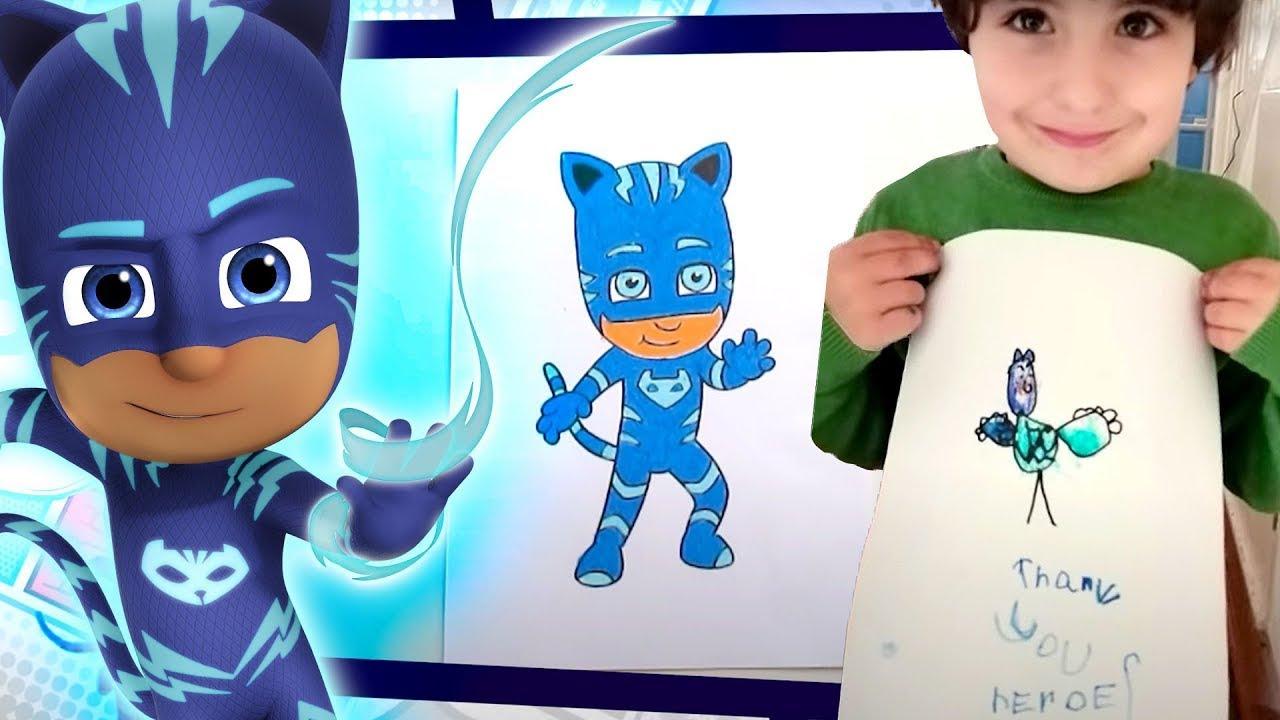 Heroes en Pijamas en Español | Como Dibujar CATBOY #2 ⭐️ HD | Dibujos Animados