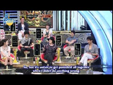 Heechul is extremely daring! (Eng/Esp)