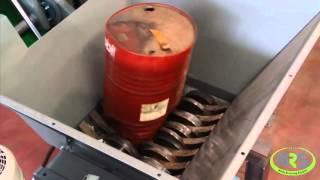 Измельчение металлических бочек на WRS SE30(Шредер WRS SE30 850 Шредеры WRS производство Италия. http://w-r-s.ru., 2015-11-12T20:51:20.000Z)
