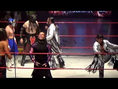 The Hardy Boyz vs The Young Bucks vs The Supernatural, Fatal Destiny ,Chile