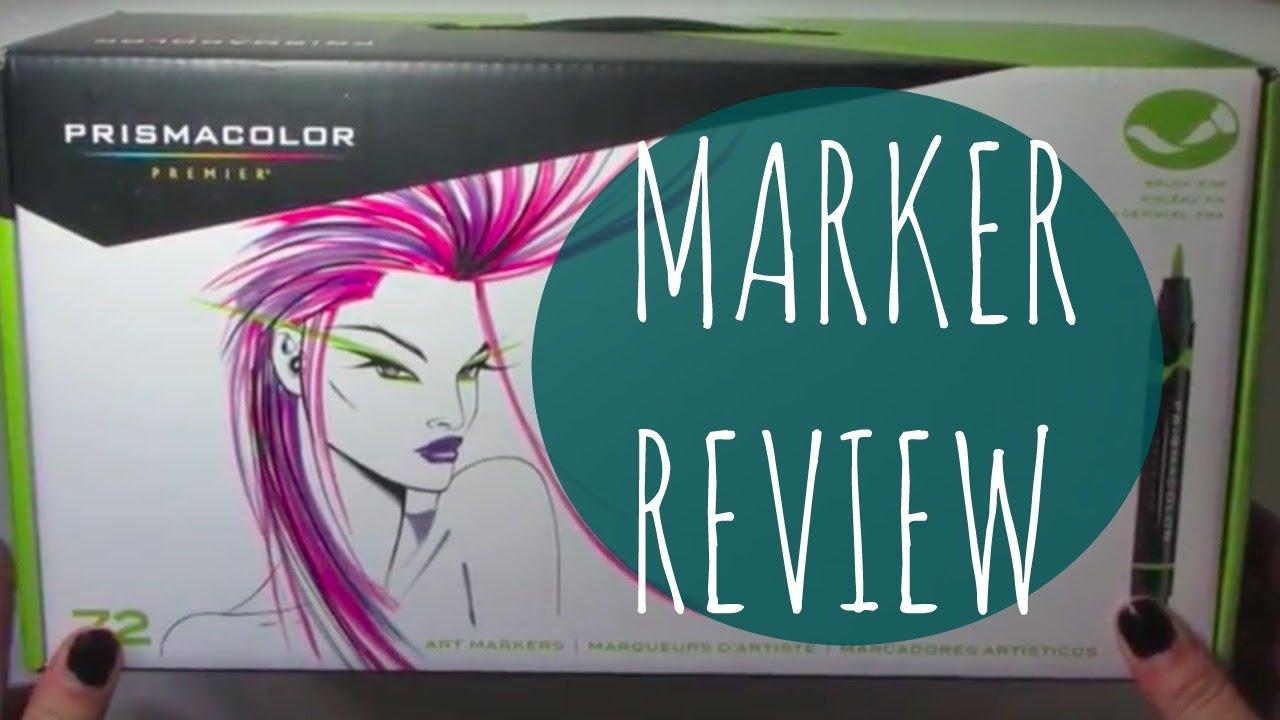 Prismacolor Marker Review 72 Brush Set