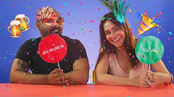 "Alessandra Negrini brinca de ""Eu Nunca"" de carnaval"