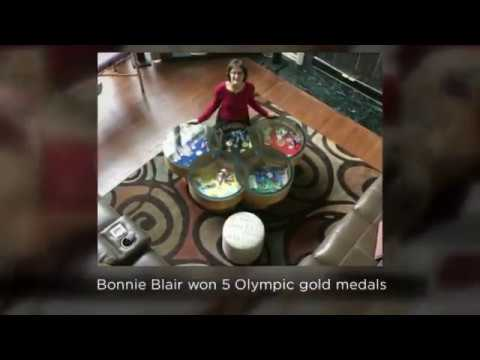 Bonnie Blair talks about her recipe in the We Energies Cookie Book