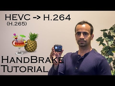 Convert Lagging GoPro HEVC Videos To H264 MP4 Easily | HandBrake Tutorial