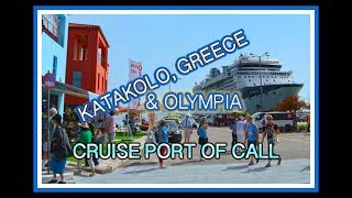 Cruise Port to Olympia Greece, Katakolo, Cruise Ship Destinations - What to See - Travel Food Drink