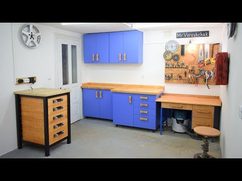 Garage Cabinets for Shop Organization
