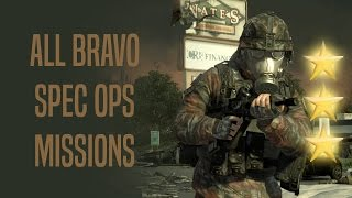 Special Ops - Bravo Missions SOLO - 3 Stars - MW2