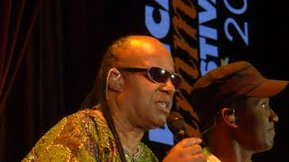 Stevie Wonder@Lucca Summer Festival 2014 -  Stevie Wonder sings  Day Tripper
