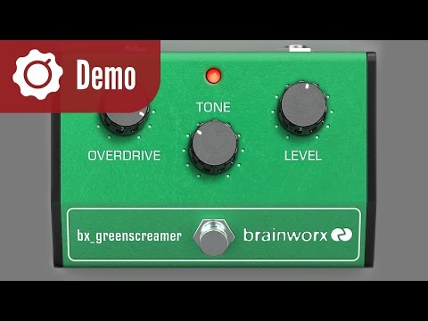 Brainworx bx_greenscreamer Pedal Plugin Demo