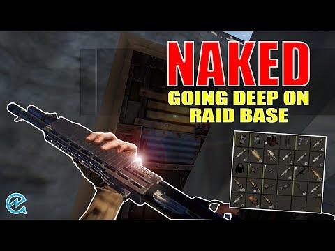Naked Going Deep On Raidbase - Rust thumbnail
