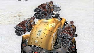 War Robots [3.5] Test Server - NEW Rocket Launcher Weapon Gameplay