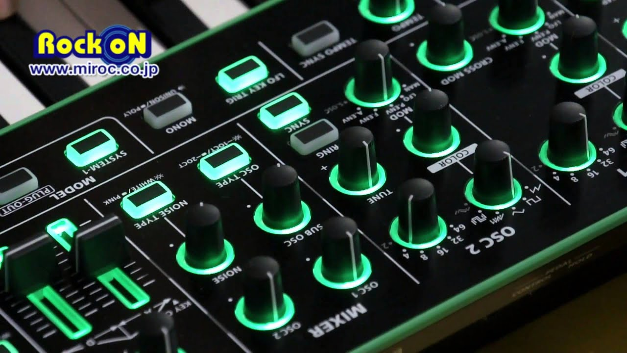 aira rock on lab roland system 1 review youtube