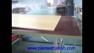 Wpc Pvc Foam Board Machine Furniture Board Extruder Machine