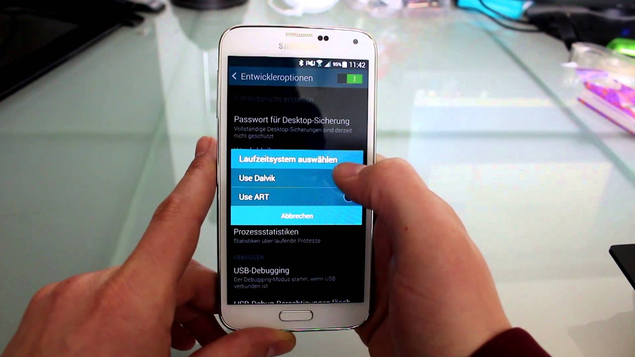 Android Demo Modus Deaktivieren