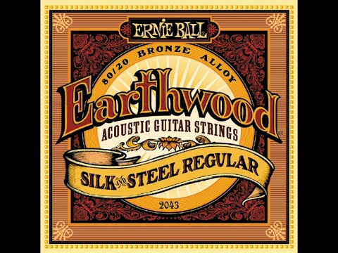 ernie ball 2045 earthwood 80 20 bronze silk and steel soft acoustic guitar strings review youtube. Black Bedroom Furniture Sets. Home Design Ideas