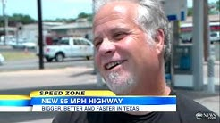 New Texas Highway Will Have 85 MPH Speed Limit