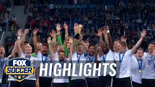 Chile vs. Germany | 2017 FIFA Confederations Cup Final Highlights
