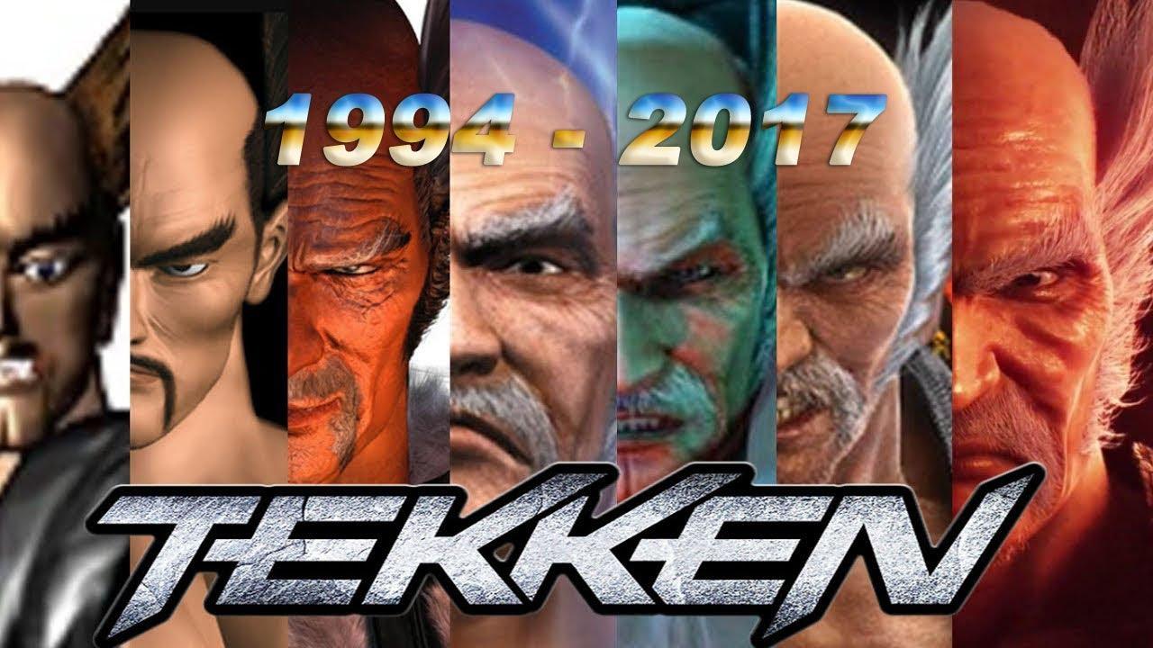 Download EVOLUCIÓN TEKKEN » 1994 - 2017