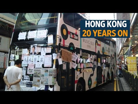 Hong Kong battles identity crisis – 20 years on