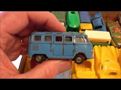Silver!  Vintage Toy Cars!  Auction Wins!