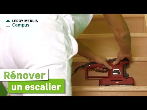 Comment rénover un escalier ? Leroy Merlin - YouTube